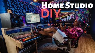 Turn Your BEDROOM Into A HOME STUDIO (VERY CHEAP)