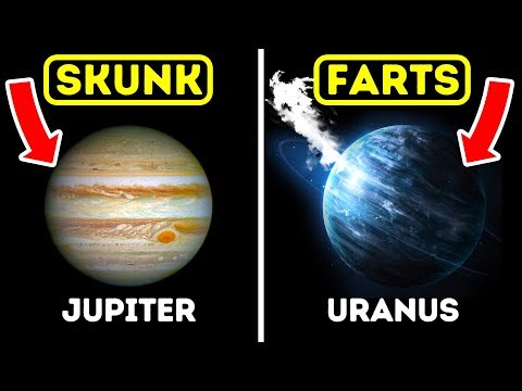 What Do The Solar System Planets Smell Like?