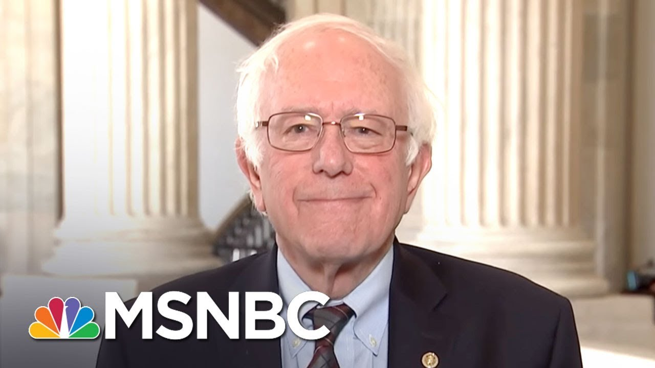 Senator Bernie Sanders: GOP Tax Bill Is Simply A 'Gift' To 1%   MSNBC thumbnail