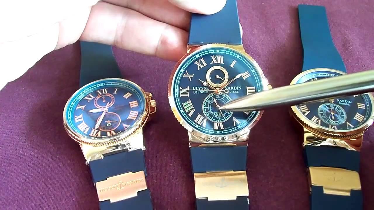 Видео Часы Ulysse Nardin