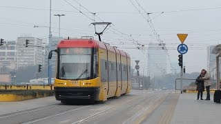 preview picture of video 'Warsaw Tram - PESA 120Na , Poland'