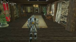 Skyrim with Reinhardt mod and exaggerated voice