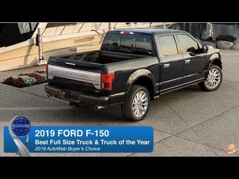 2019 Ford F-150 Wins AutoWeb Buyer