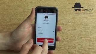 uWatch Cube: How to Set Up Account using Phone App