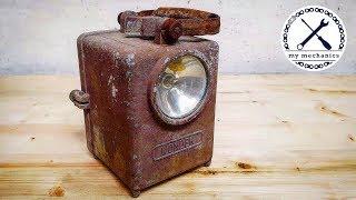 Светильник Wonder 1950-х годов – Реставрация