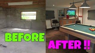Man Cave, Garage Conversion, Pool Room, Mini Pub
