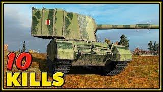 FV4005 Stage II - 10 Kills - World of Tanks Gameplay