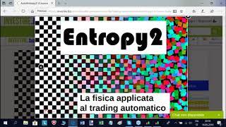 Trading Automatico - Presentazione Entropy 2 - 17.05.2018