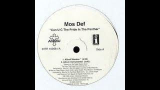Mos Def ‎– Can U C The Pride In The Panther [Instrumental]