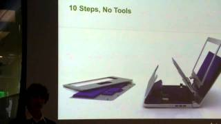 Stanford Bloom Laptop - Sustainability Summit at Autodesk