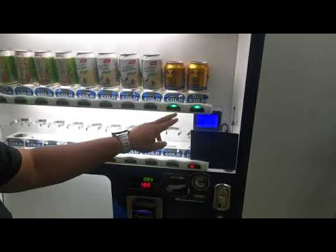 Confirmation page on Lynpay wallet on vending machine