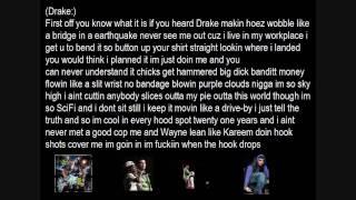 Lil wayne Ft Drake I'm Going In + Lyrics in HD
