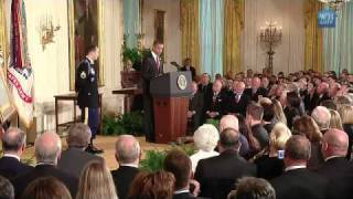 Medal of Honor for Staff Sergeant Salvatore Giunta