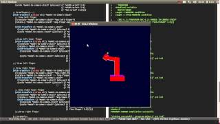 OpenGL programming - Armature simulation