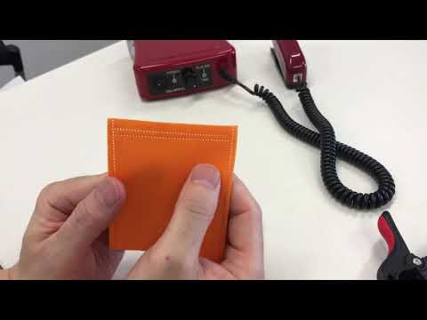 Non-woven pouch / 2 lines sealing