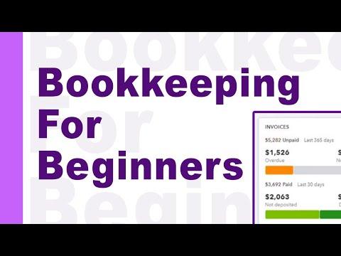QUICKBOOKS ONLINE - For Beginners - YouTube