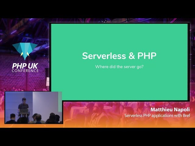 Serverless PHP applications with Bref