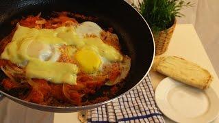 "فطور سهل وسريع ""بيض""  / "" Easy and fast Breakfast "" Eggs"
