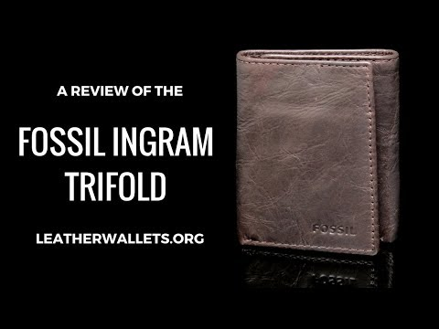 Avoid the Fossil Ingram Trifold Wallet – Here is why