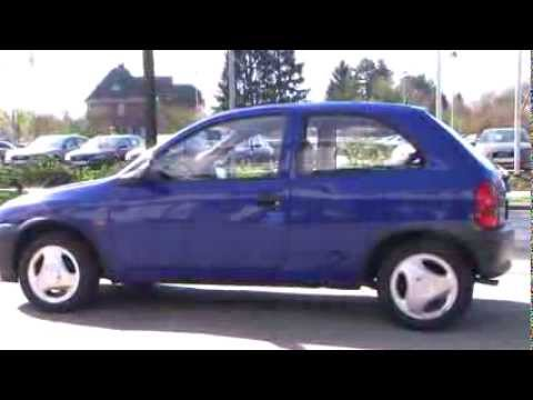 Opel Corsa 1.2 City Modell 2000 blau