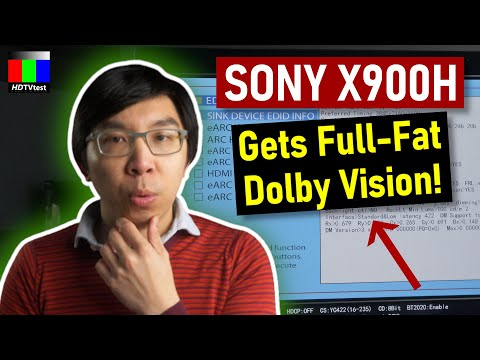 External Review Video R2WDVRR4WV0 for Sony XH90 / XH92 (X900H) 4K Full Array LED TV