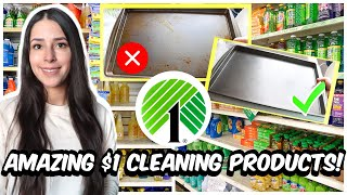 $1 DOLLAR TREE  CLEANING PRODUCTS THAT WILL HAVE YOU SHOCKED!┃𝗼𝗻𝗹𝘆 $1