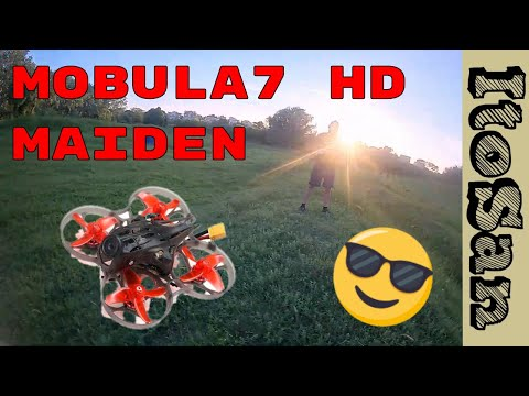 Mobula7 HD Maiden Flight. Freestyle session