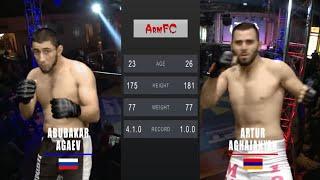 ArmFC-19.Abubakar Agaev vs Artur Aghajanyan HD