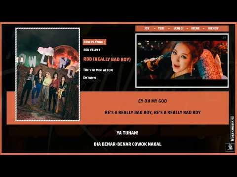 RED VELVET -  REALLY BAD BOY  Lyrics (SUB INDO)  4c244054fb