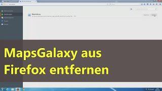 MapsGalaxy aus Firefox entfernen