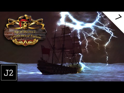 Age Of Pirates 2 Gentlemen of Fortune Mod Gameplay - Naval Superiority - Part 7