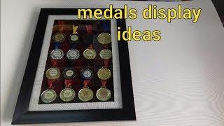 Medals Hanging Display || Medals Hanging Ideas || Madels Arrangement || Medals Display