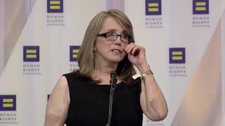 Christine Leinonen at the 2016 HRC National Dinner