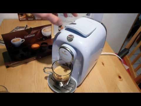 Tchibo Cafissimo Picco Caffe Crema Zubereitung