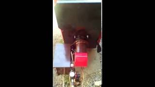 Котел на отработке 15 кВт