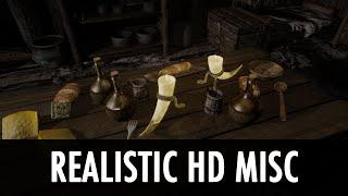Skyrim Mod Spotlight: Realistic HD Misc