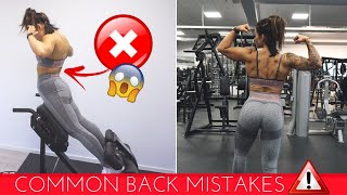 Promise To NEVER Do These Mistakes Again, ok? A MUST SEE Before Your Next Back Workout!