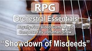 "Free Video Game Music - ""Showdown of Misdeeds"" (RPG Orchestral Essentials)"