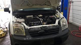Ford Transit Connect Vibration Fix