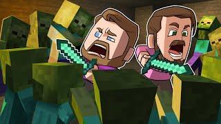 Defend The Base Challenge!   Minecraft