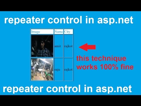repeater control in asp.net