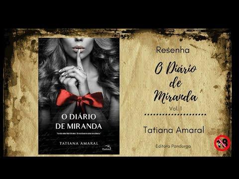 Resenha - O Diário de Miranda: Livro 1 - Tatiana Amaral