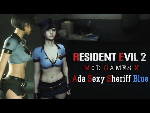 ADA Bad Cop Sexy - Resident Evil 2 RE Mod