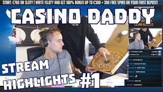 CasinoDaddy Stream Highlights #1