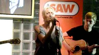 SARAH CONNOR *Leave With A Song* live Radio SAW 22.10.10