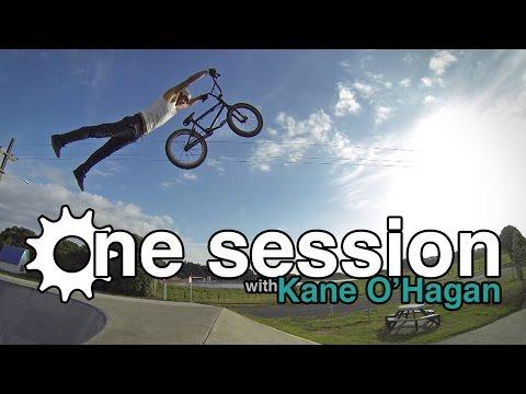 One Session: Kane O'Hagan at Otaki Skatepark