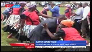KTN Leo: Mbunge wa Mbooni; Michael Kisoi akogangari kwa uchaguzi mdogo baada ya kufurushwa na Wiper
