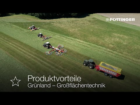 Grassland large-scale technologies from PÖTTINGER