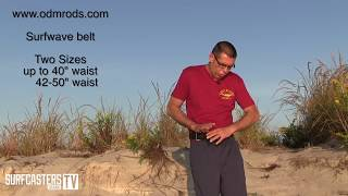 ODM SURFWAVE Belt Review by Surfcaster's Journal