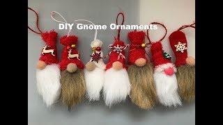 DIY Christmas Ornaments. Mini Gnome Ornaments DIY 🎄🧙♂️